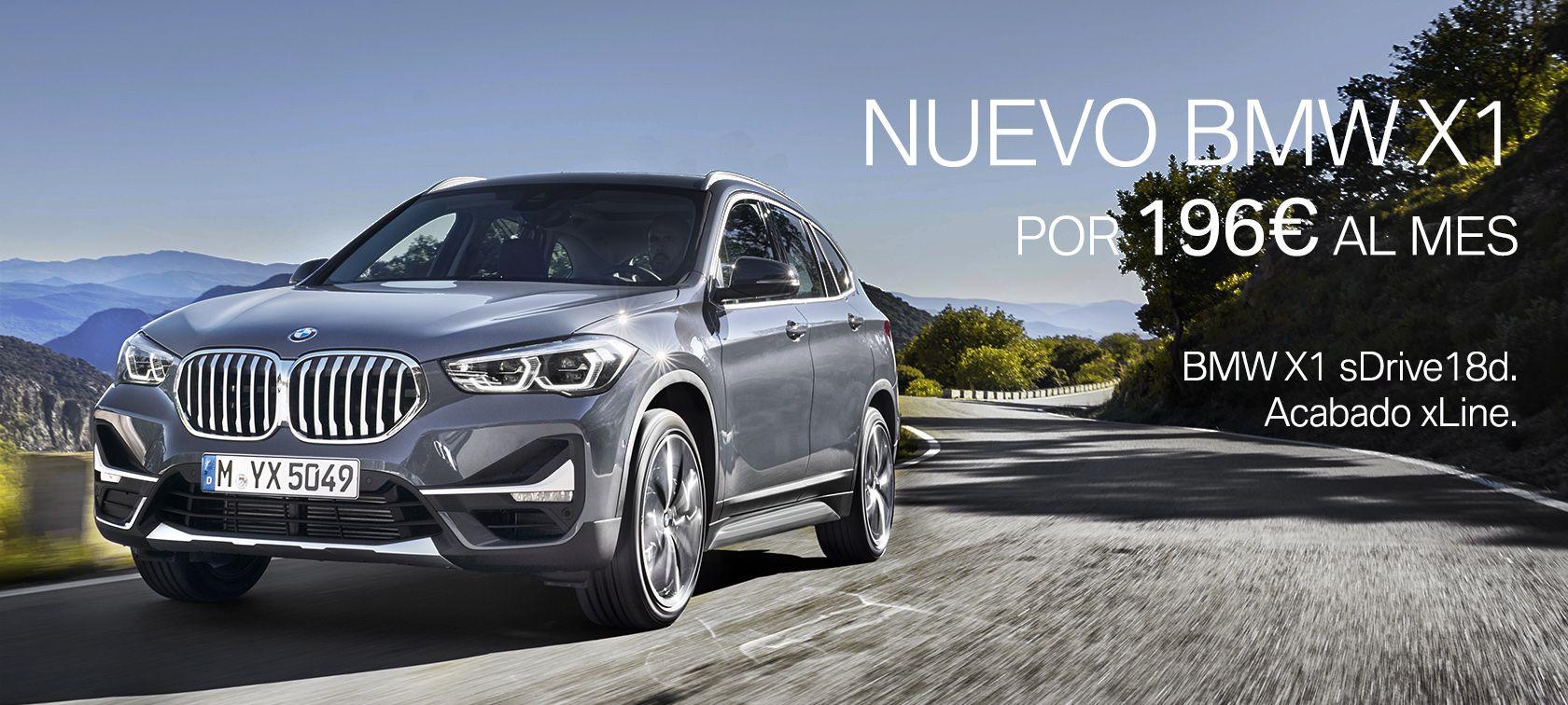 BMW X1 por 196€ al mes