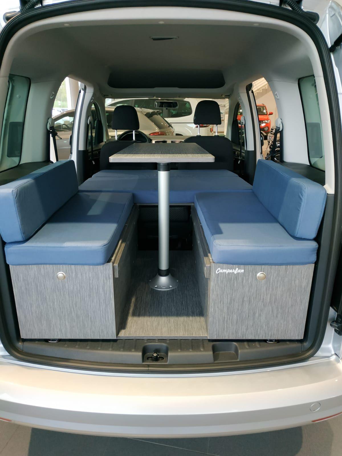 Camperiza tu Volkswagen Caddy por 2.200€ IVA INCLUIDO