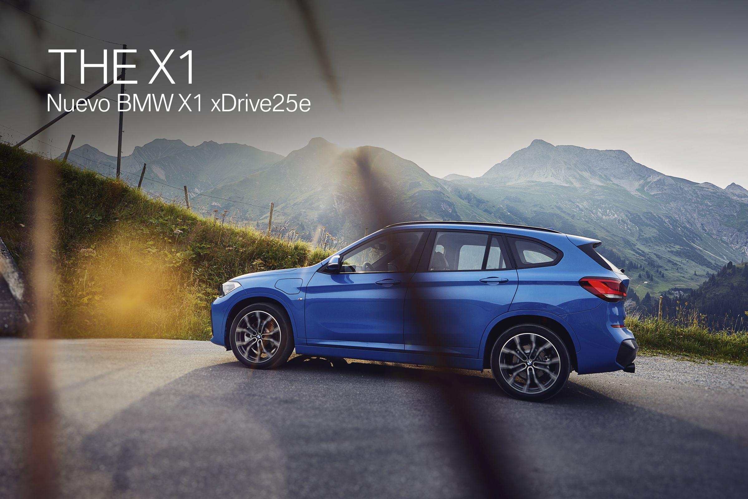 Nuevo BMW X1 xDrive25e - placer de conducción sostenible y tracción integral inteligente