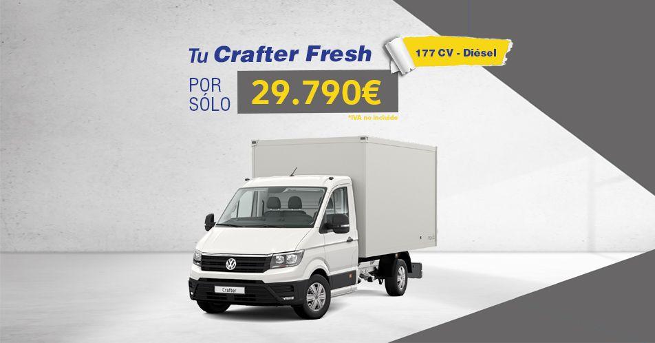 Crafter Fresh por sólo 29.790€ + IVA
