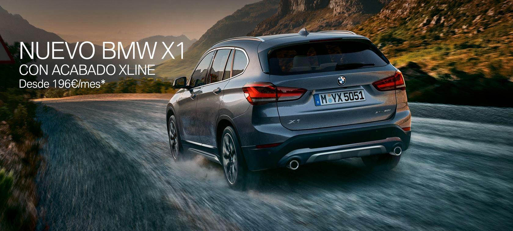 NUEVO BMW X1 DESDE 196€ AL MES*