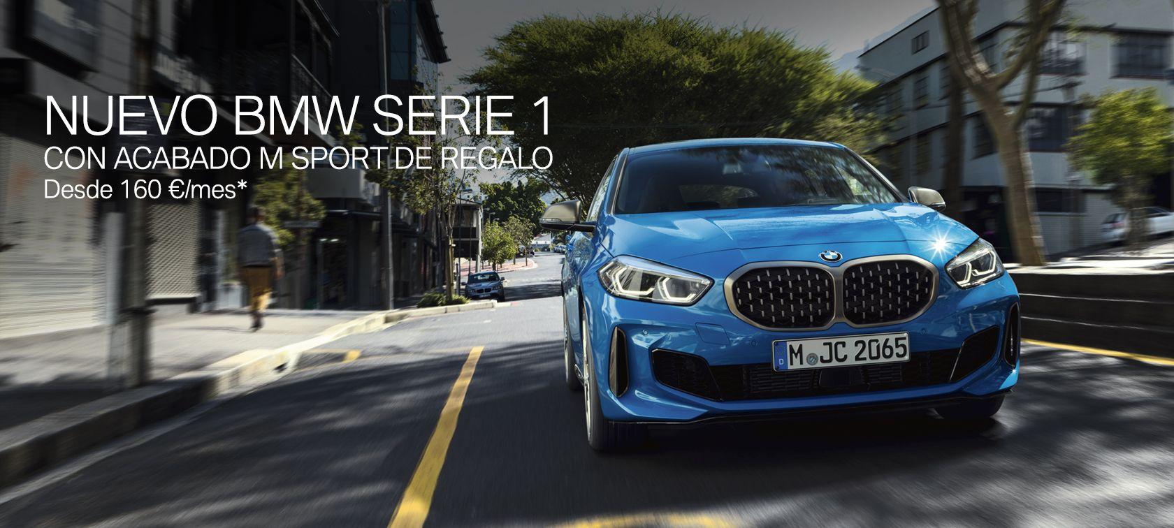 NUEVO BMW SERIE 1 CON ACABADO M SPORT DE REGALO