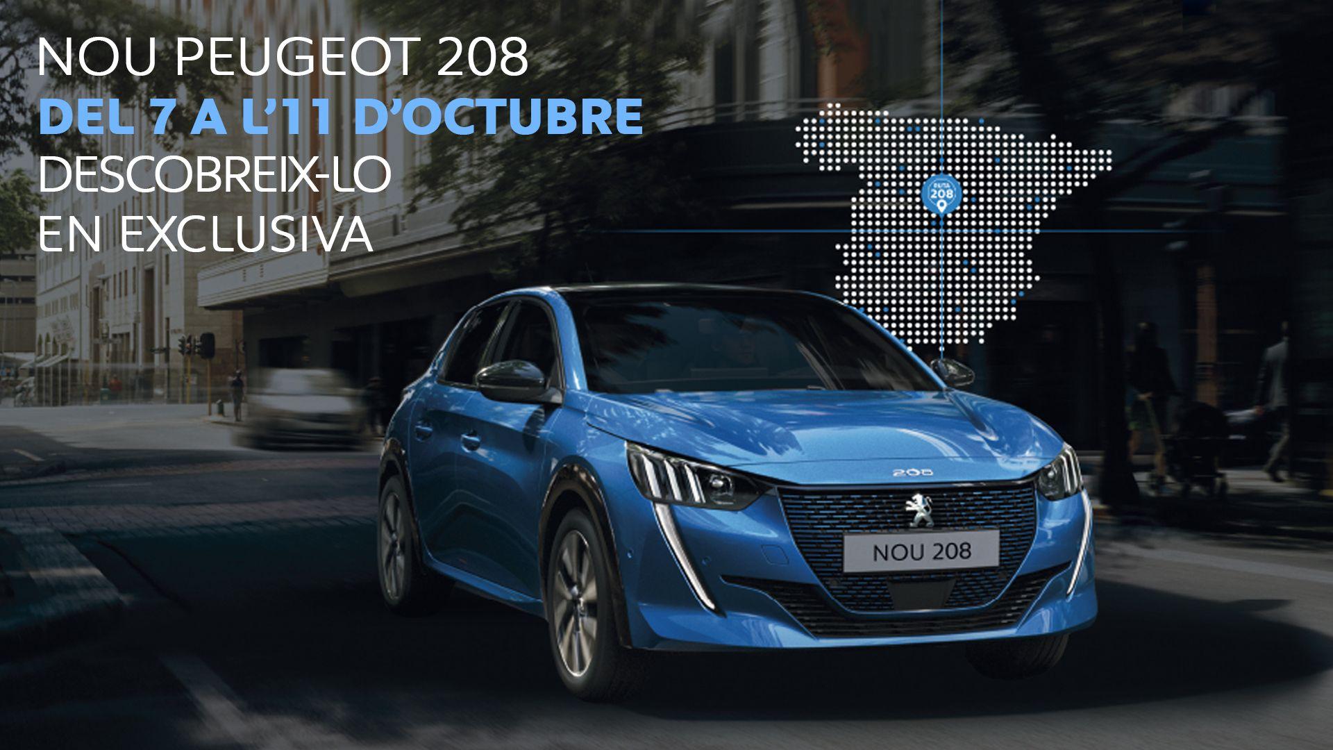 Eutrasa presenta en exclusiva el nou Peugeot 208 del 7 a l'11 d'Octubre
