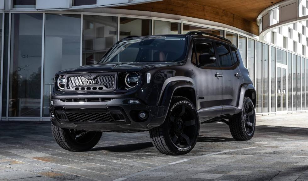 Jeep Renegade by Militem: el SUV crece en altura y lujo