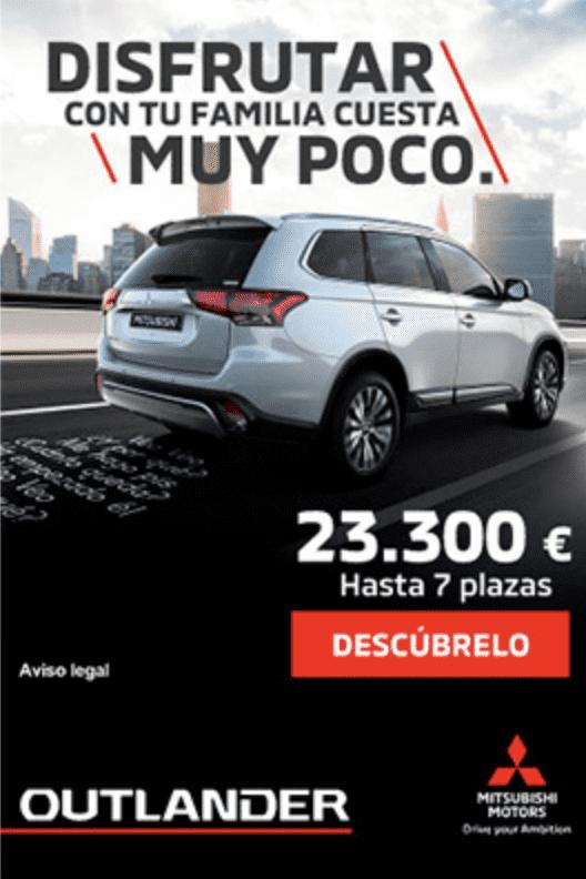 Mitsubishi Outlander por 23.300€