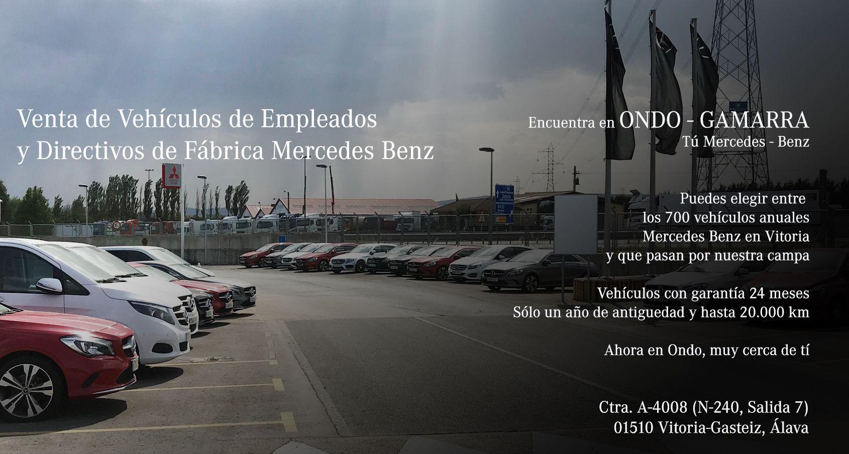 Vehículos Empleados Fábrica Mercedes Benz