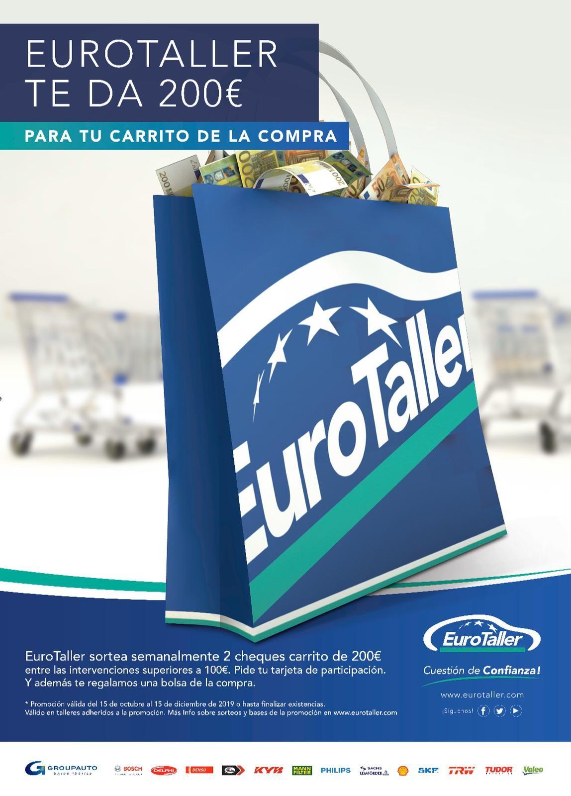 ¡¡Sorteamos semanalmente 2 carritos de la compra de 200€!!