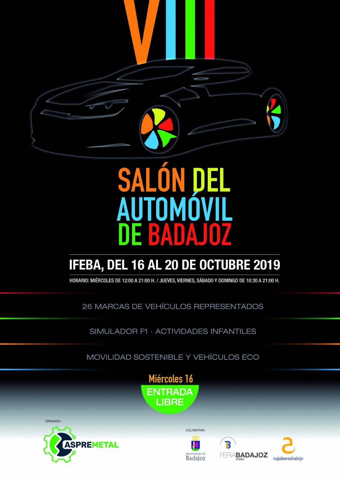 MANDEL MOTOR EN EL 'VIII SALÓN DEL AUTOMÓVIL DE BADAJOZ 2019'