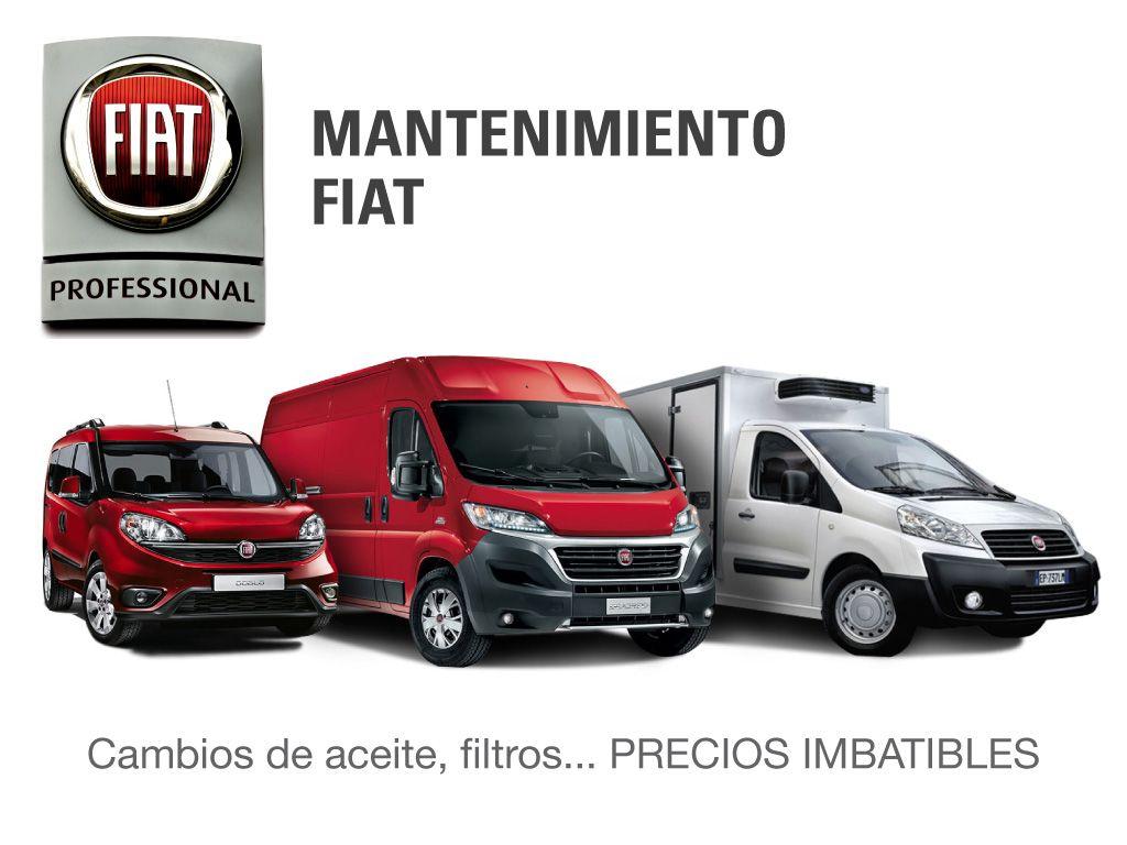 PROMOCIONES MANTENIMIENTO FIAT