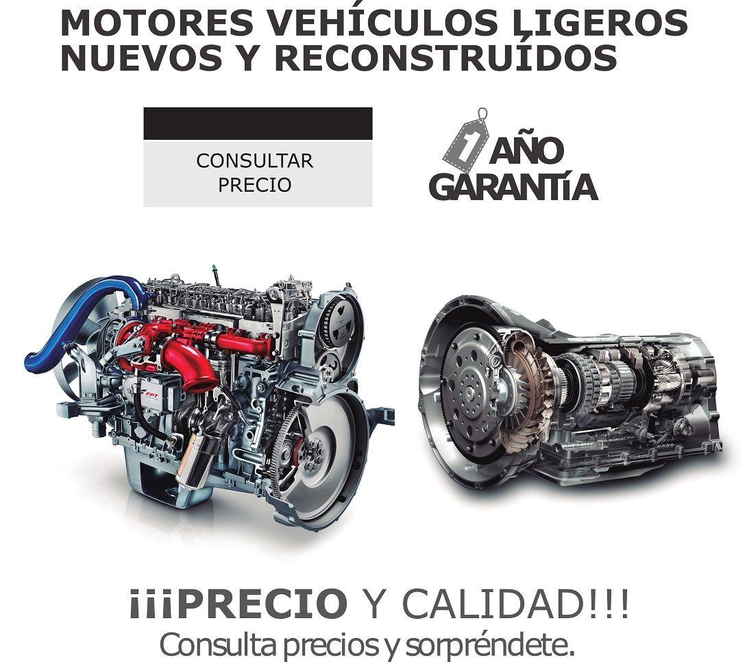 MOTORES Y CAMBIOS RECONSTRUIDOS