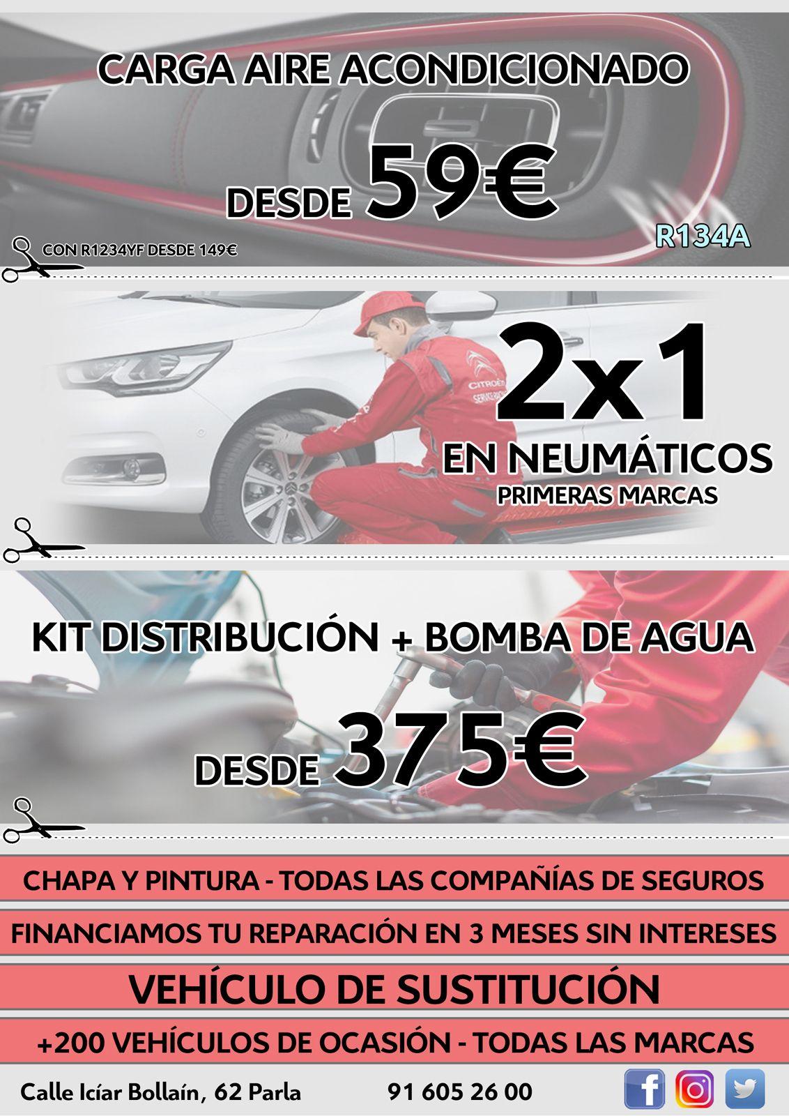 Kit de distribución desde 375€ y mas ofertas
