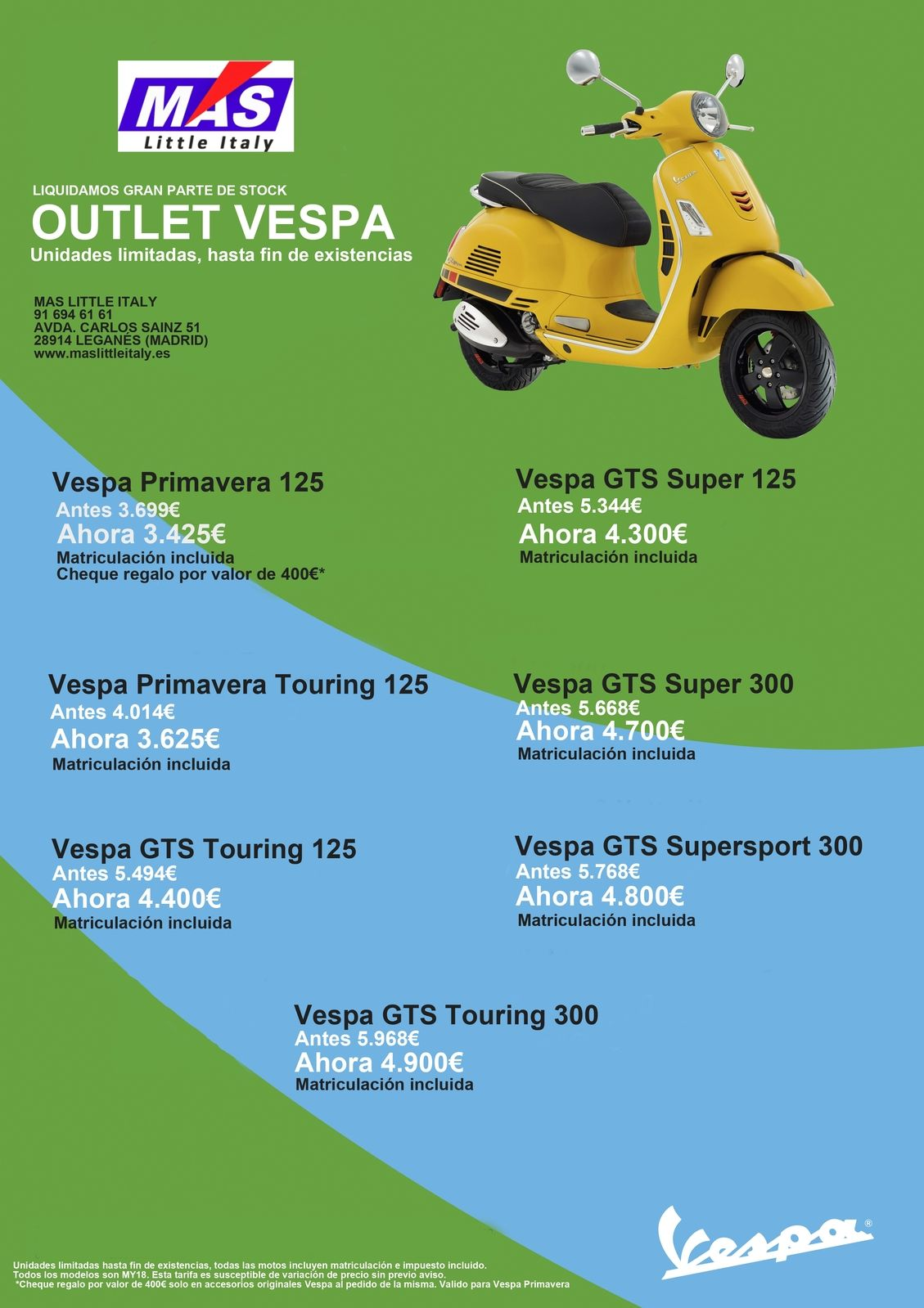 Black Friday Vespa