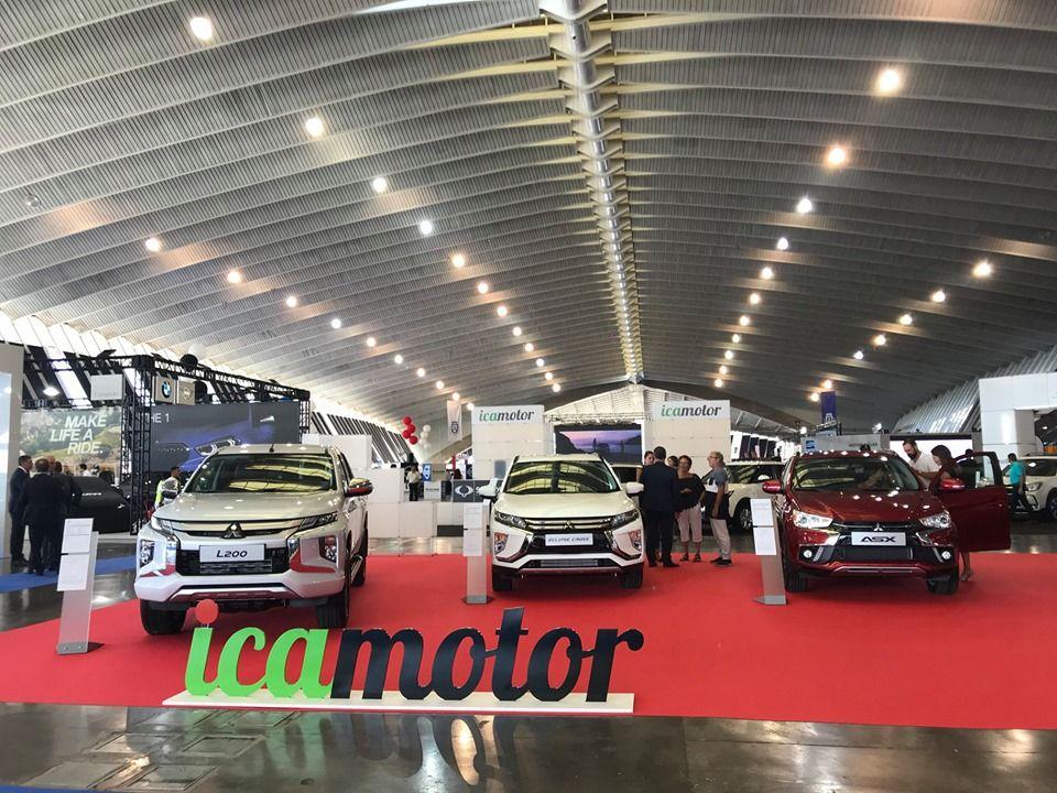 L200, Eclipse Cross, Space Star y ASX en el Salón del Automóvil de Canarias.