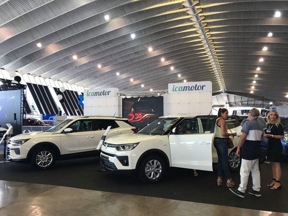SsangYong en el Salón del Automóvil de Canarias.