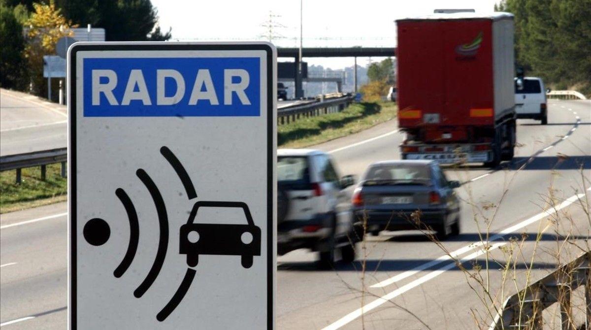 Lista de los 25 radares de tráfico más multones
