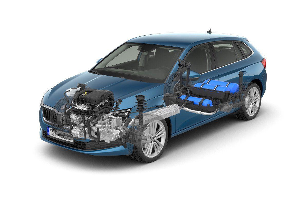 El Skoda Scala contará con motor de gas natural G-TEC