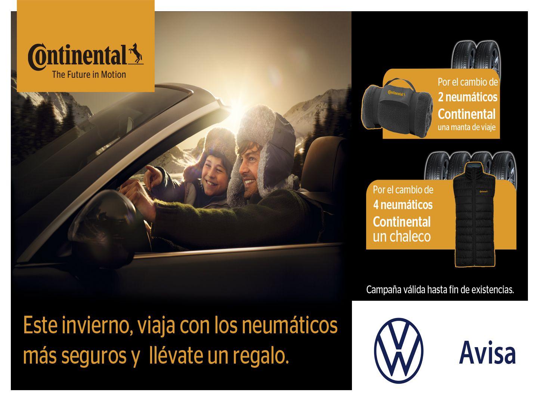 Campaña Continental, tus neumáticos al mejor precio