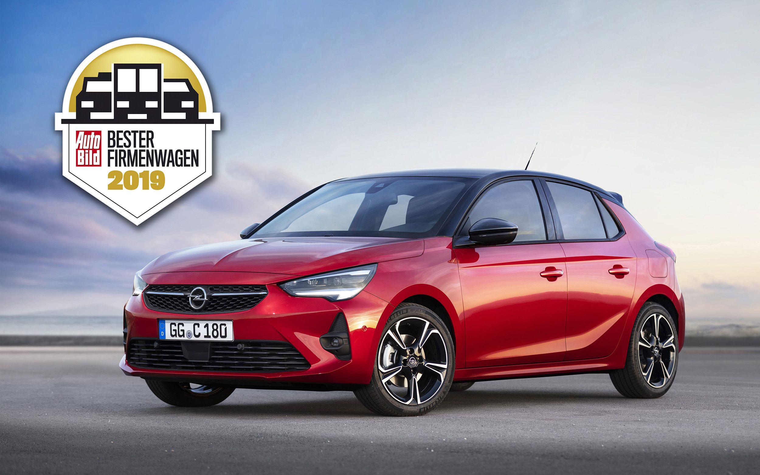 """Camino del éxito: el Nuevo Opel Corsa galardonado como """"Coche de Empresa del Año"""""""