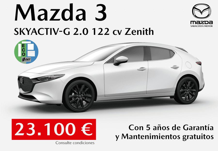 Nuevo Mazda3 por 23.100 €