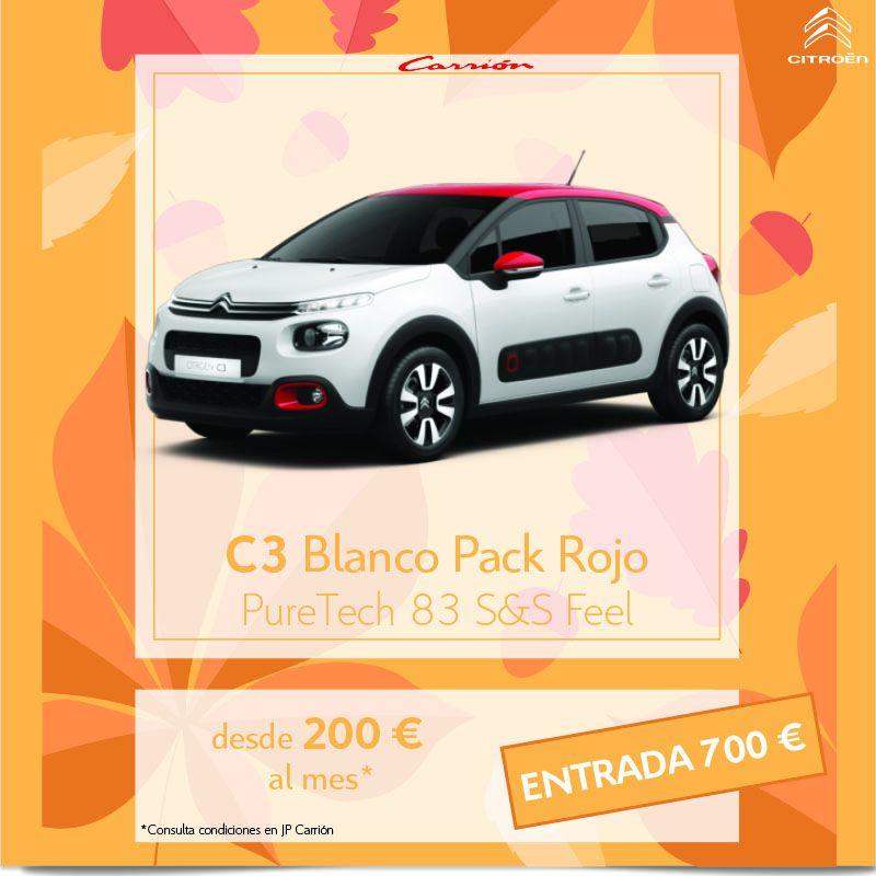 Citroën C3 desde 200 €/mes*