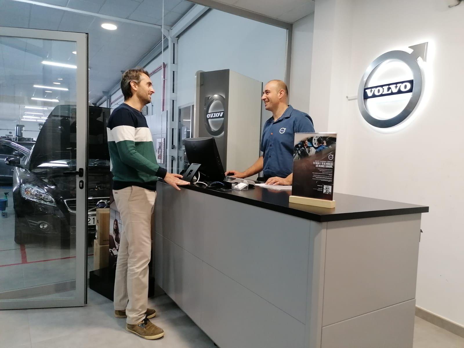 ANKARA MOTOR ELCHE NUEVO TALLER OFICIAL CON LICENCIA VOLVO PERSONAL SERVICE