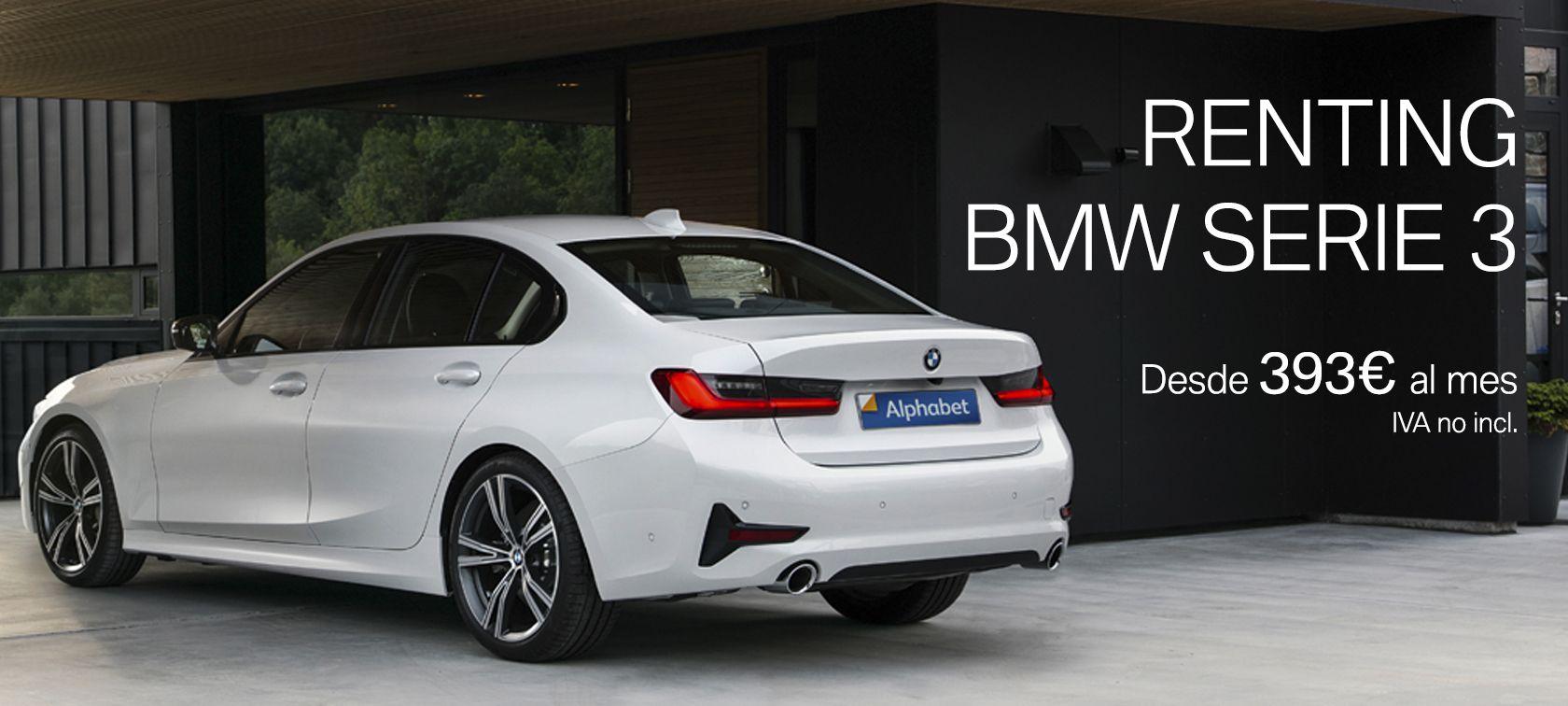 RENTING NUEVO BMW SERIE 3