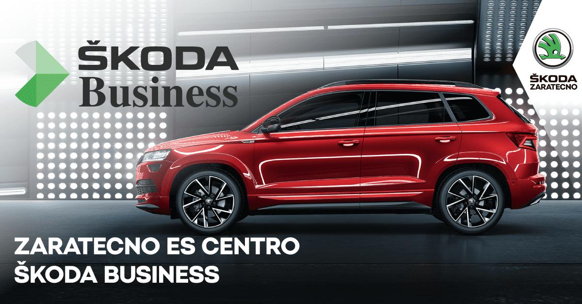 Zaratecno se convierte en centro ŠKODA Business
