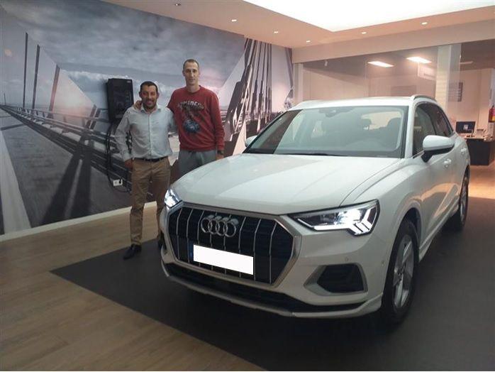 Entrega Nuevo Audi Q3 a Radsav Petrovic