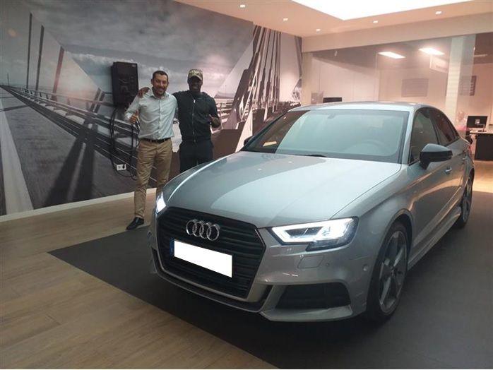 Entrega Nuevo Audi A3 Sedan a Arvin Appiah
