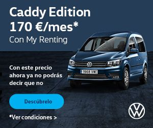 Volkswagen Caddy por 170€/mes* Con My Renting