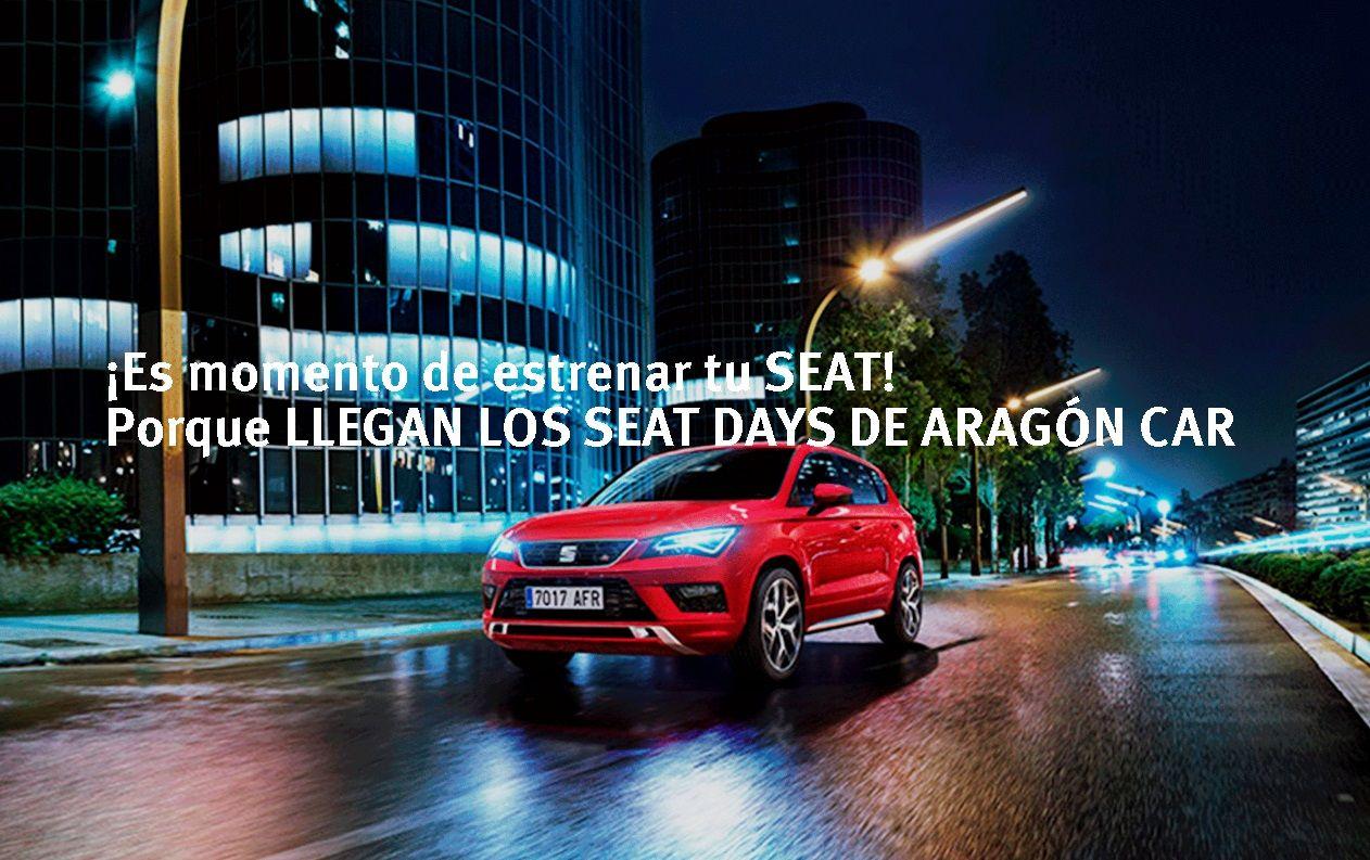 Del 14 al 16 de Noviembre SEAT DAYS de Aragón CAr