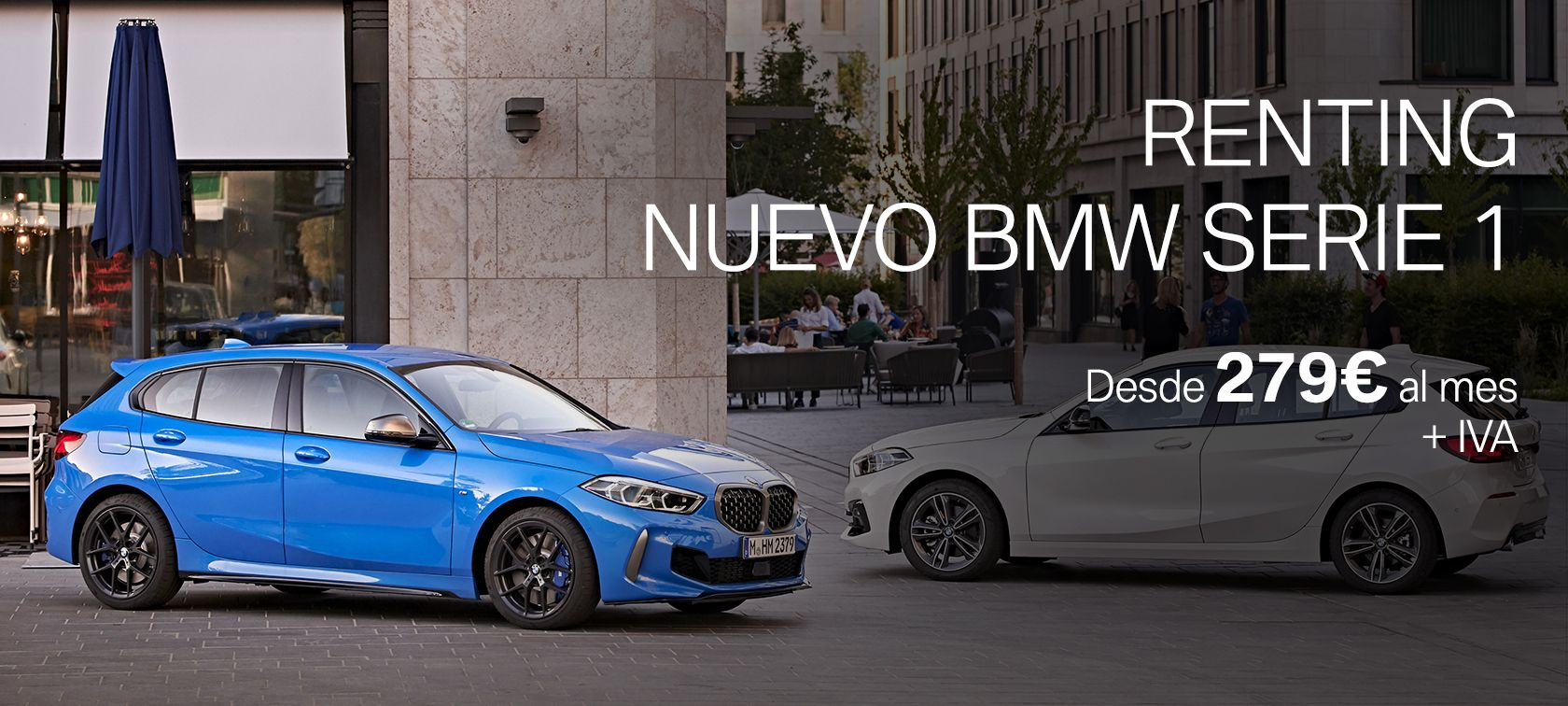 RENTING NUEVO BMW SERIE 1