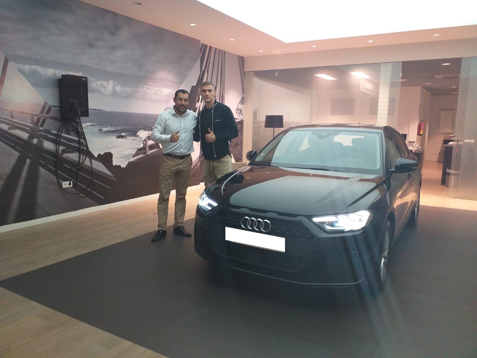 Entrega Nuevo Audi A1 Sportback a Ante Ćorić