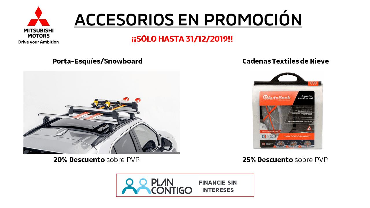 ACCESORIOS EN PROMOCIÓN ¡SOLO HASTA 31/12/2019!