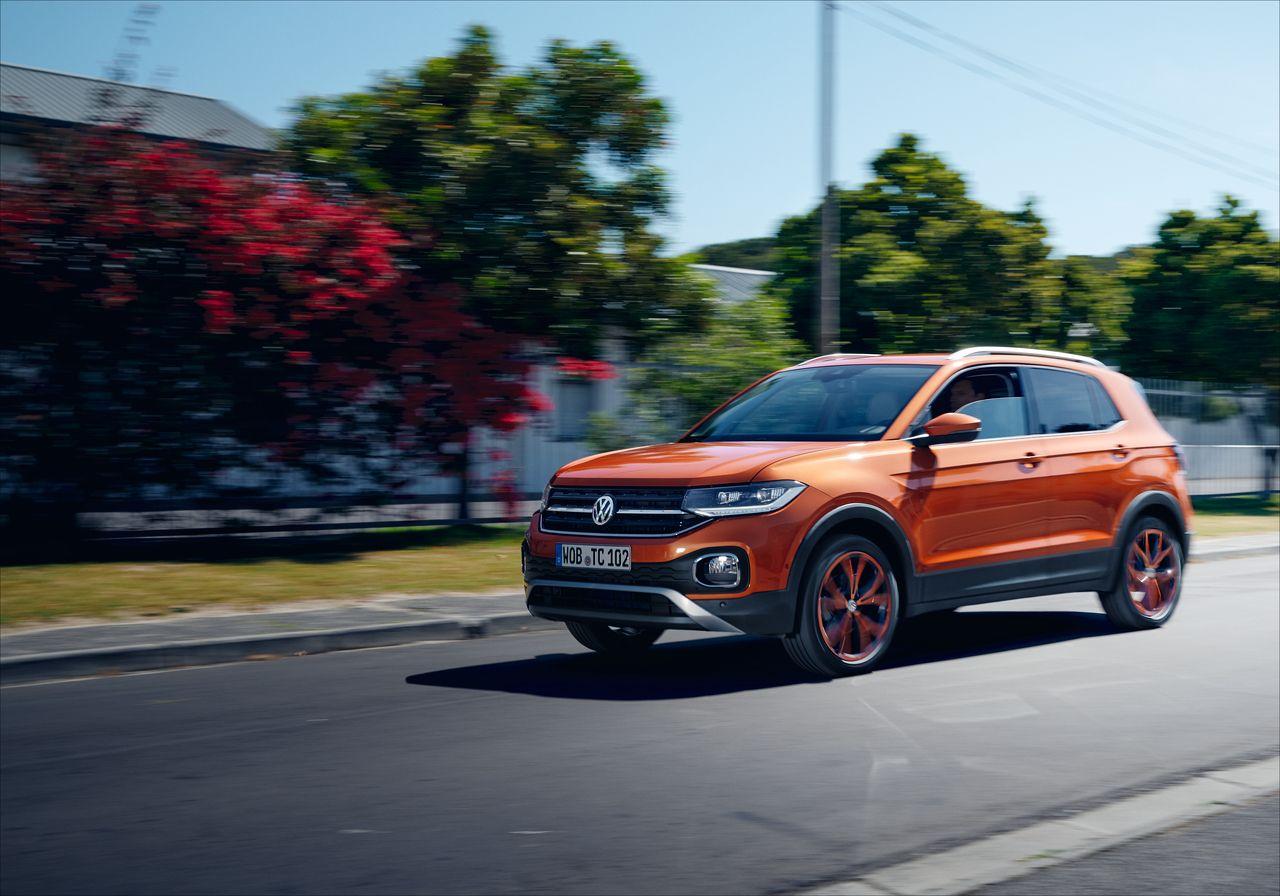 Conduce el nuevo Volkswagen T-Cross desde 6€ al día con My Renting