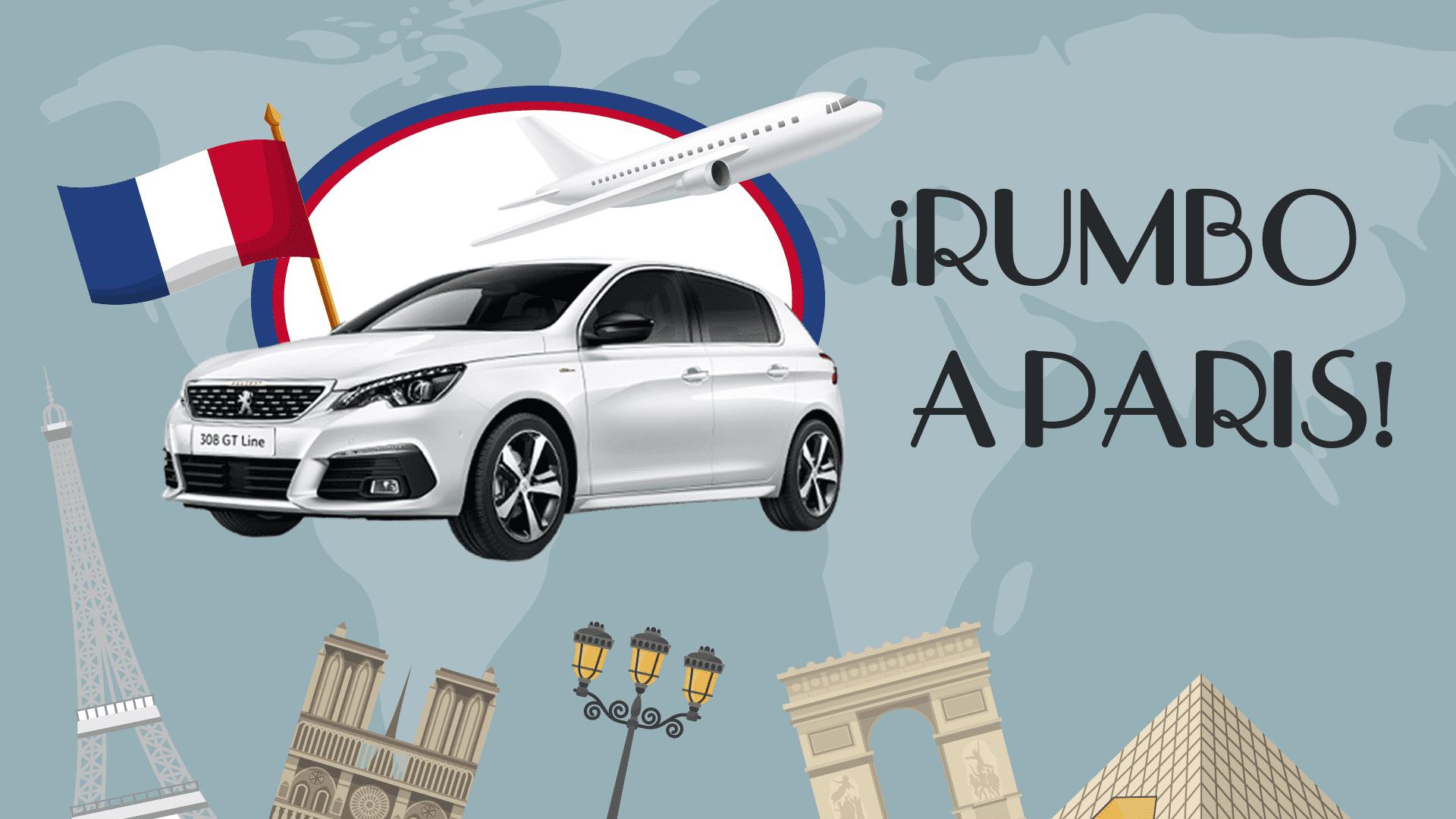 Viaja gratis a Paris comprando un Peugeot 308