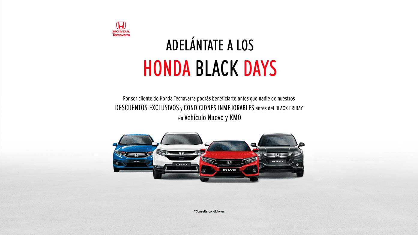 HONDA BLACK DAYS