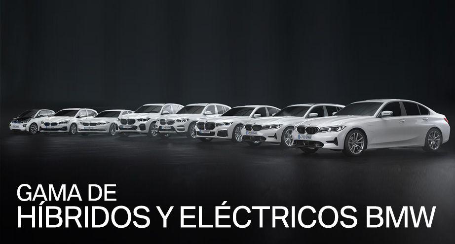 GAMA DE HÍBRIDOS Y ELÉCTRICOS DE BMW
