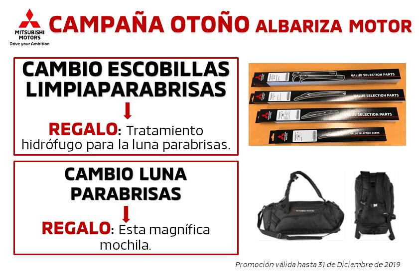 CAMPAÑA OTOÑO: ESCOBILLAS LIMPIAPARABRISAS Y CAMBIO DE LUNAS