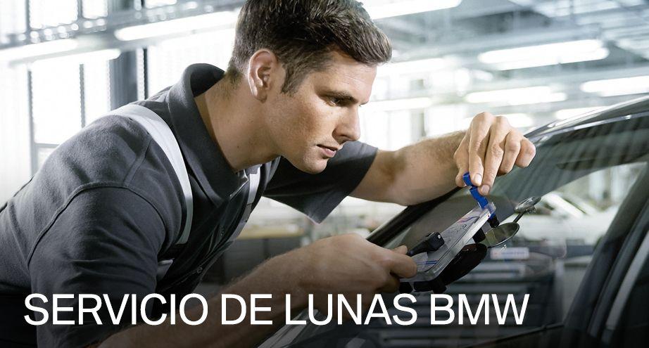 Servicio de sustitución de lunas BMW