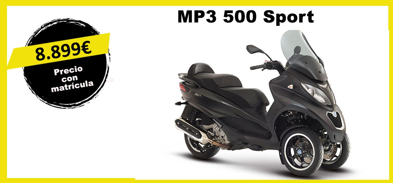 MP3 500 Sport de Piaggiol