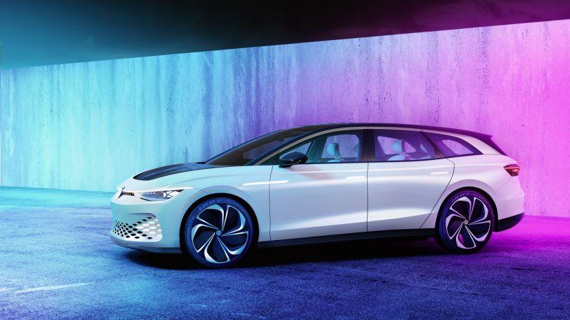 Volkswagen Space Vizzion, prueba de un concepto