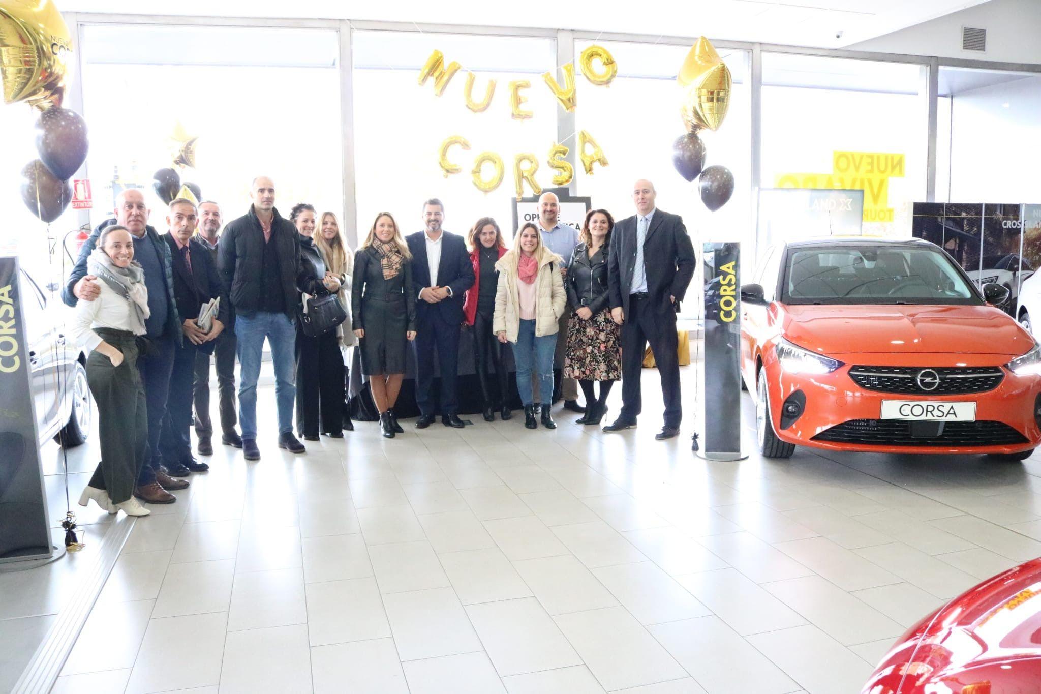 Celebramos la llegada de Nuevo Corsa con los medios de comunicación de Granada.