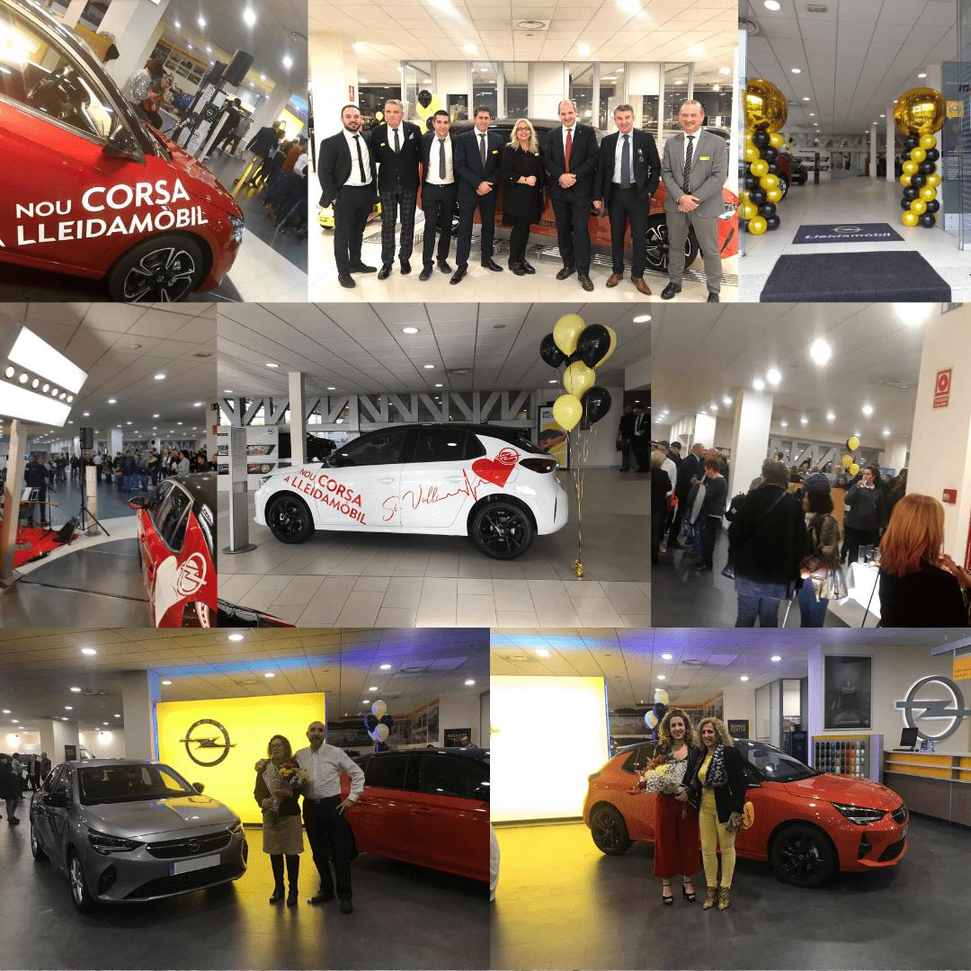 El nou Opel Corsa arriba a Lleidamòbil