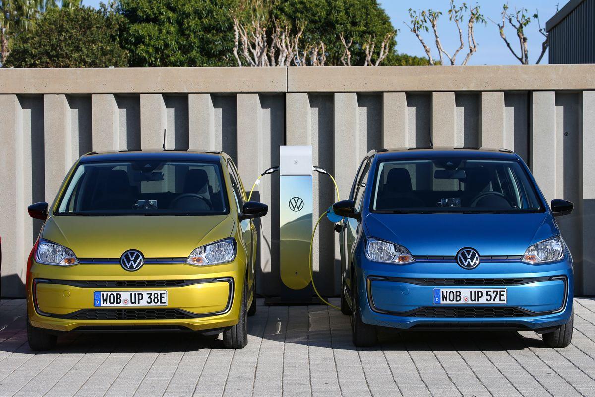 El coche urbano perfecto: Volkswagen E-UP