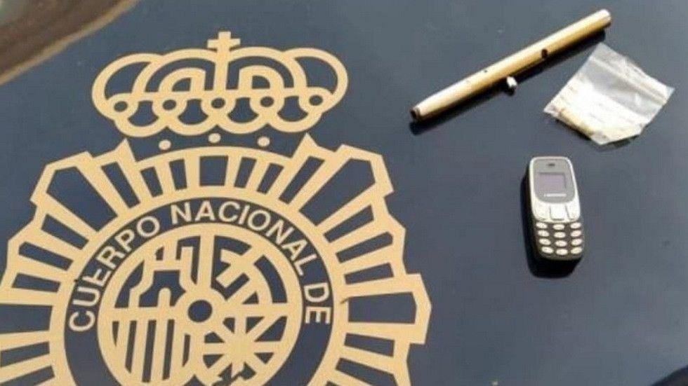 Detenido un conductor drogado, sin carné y con un bolígrafo-pistola cargado para disparar