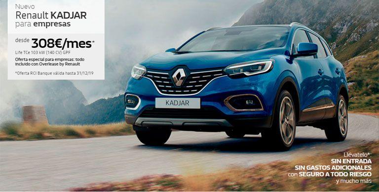 Renault Kadjar para empresas