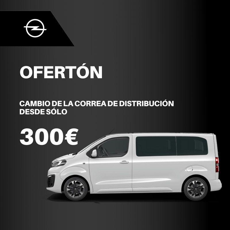 Cambio de correa de distribución por 300€
