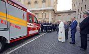 MAN dona una TGE al cuerpo de bomberos del Vaticano