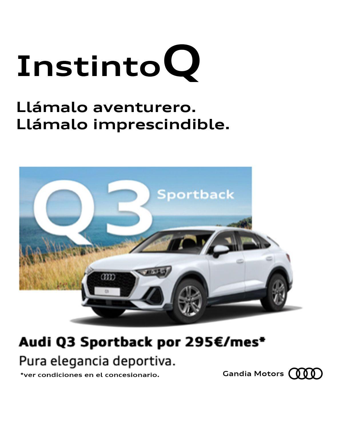 Ven a por el nuevo Q3 Sportback